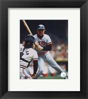 Al Kaline - Looking at catcher Fine Art Print