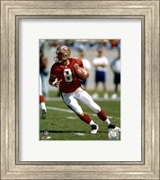 SteveYoung - Dropping back Fine Art Print