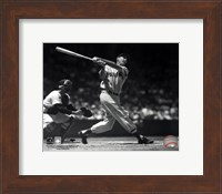 Ted Williams - Batting (sepia) Fine Art Print
