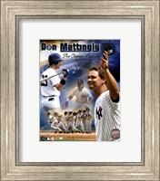 """Don Mattingly - """"The Captain Returns"""" Composite Fine Art Print"""