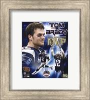 Tom Brady - Super Bowl XXXVIII MVP Champions Collection (limited Edition) Fine Art Print