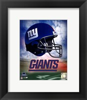 N.Y. Giants Helmet Logo Fine Art Print