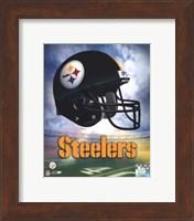 Pittsburgh Steelers Helmet Logo Fine Art Print