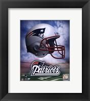 New England Patriots Helmet Logo Fine Art Print