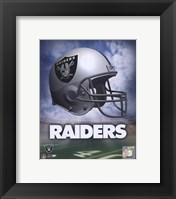 Oakland Raiders Helmet Logo Fine Art Print