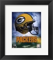 Green Bay Packers Helmet Logo Fine Art Print