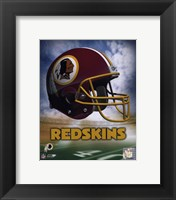 Washington Redskins Helmet Logo Fine Art Print