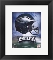 Philadelphia Eagles Helmet Logo Fine Art Print