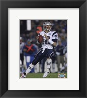 Tom Brady - Super Bowl XXXIX - passing in first quarter Fine Art Print