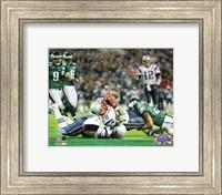 Corey Dillon - Super Bowl XXXIX - 4th quarter 2-yard touchdown run Fine Art Print