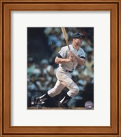 Mickey Mantle - Batting Fine Art Print