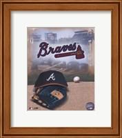 Atlanta Braves - '05 Logo / Cap and Glove Fine Art Print