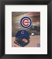 Chicago Cubs - '05 Logo / Cap and Glove Fine Art Print