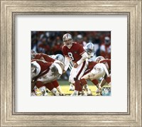 Steve Young - Calling Play Fine Art Print