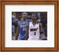 Carmelo Anthony / Dwyane Wade '05 / '06 Action Fine Art Print