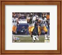 Super Bowl XL - Willie Parker / Action #6 Fine Art Print