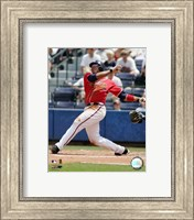 Andruw Jones - 2006 Batting Action Fine Art Print