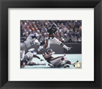 Walter Payton - in air Action Fine Art Print