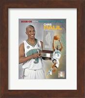 Chris Paul - 2006 Rookie Of The Year Fine Art Print
