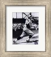 Babe Ruth - Batting Action Fine Art Print