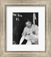 Babe Ruth - Farewell Game / Locker Room Fine Art Print