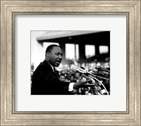 Rev. Dr. Martin Luther King Jr. Speaking (#8) Fine Art Print