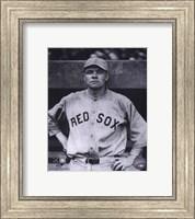 Babe Ruth - Close Up (Red Sox) Fine Art Print