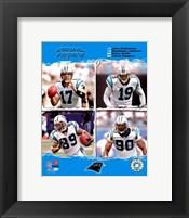 "2006 - Panthers ""Big 4"" Fine Art Print"