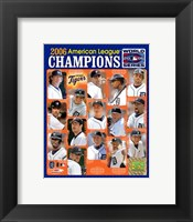 '06 Tigers ALCS Champions Team Composite ll Fine Art Print