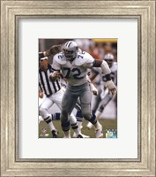 "Ed ""Too Tall"" Jones 1985 Action Fine Art Print"