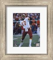 Doug Williams Super Bowl XXII 1988 Passing Action Fine Art Print