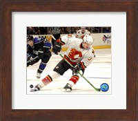 Dion Phaneuf - '06 / '07 Away Action Fine Art Print