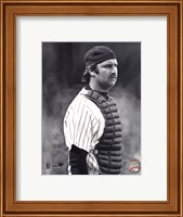 Thurman Munson - 1978 Catching Action Fine Art Print