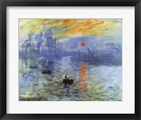 Impression, Sunrise, c.1872 Fine Art Print