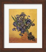 Les Irises Fine Art Print