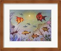 Deep Sea Party Fine Art Print