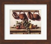 Hanging Baskets Fine Art Print