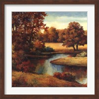 Lakeside Serenity I Fine Art Print