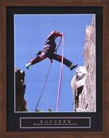 Success - Rock Jumper Fine Art Print