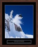 Challenge - Skier Fine Art Print