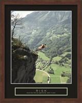 Risk - Cliff Jumper Fine Art Print