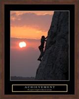 Achievement - Climber Fine Art Print