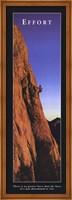 Effort - Climber Fine Art Print