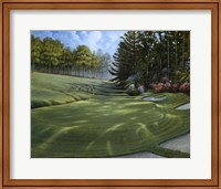 Azalea Hole Golf Course Fine Art Print