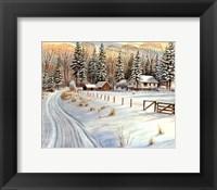 Winter Scene IV Fine Art Print