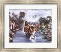White Baptism Fine Art Print