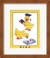 Ducks - Reading Fine Art Print