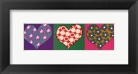Three Hearts Fine Art Print