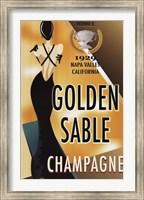 Golden Sable I Fine Art Print