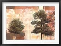 Parchment Trees I Fine Art Print